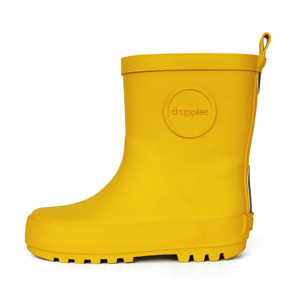 Druppies Yellow Adventure wellies