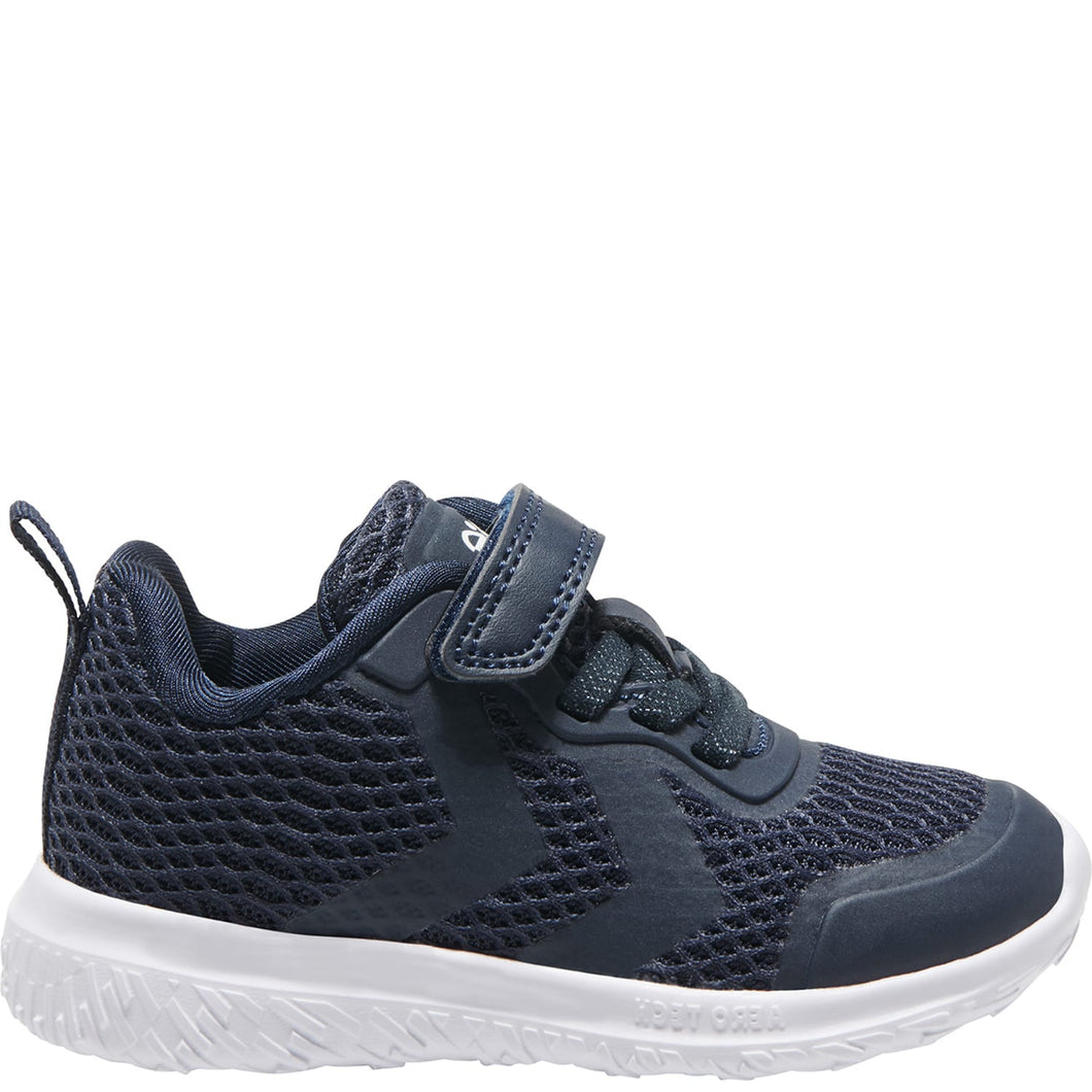 Hummel Actus Ml Infant Black Iris Trainers