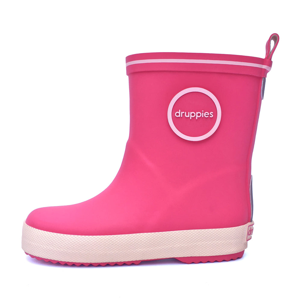 Druppies Pink Fashion Wellies