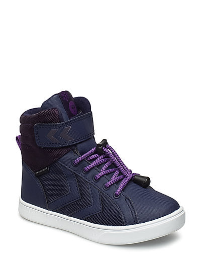 Hummel Splash Poly Peacoat High Top Trainer Winter Boots