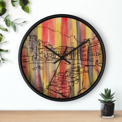 VERNAZZA Wall clock