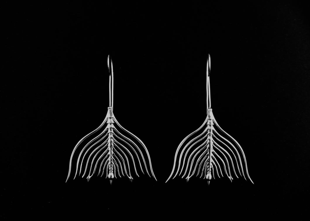 Protozoa Earrings (Long Stem)