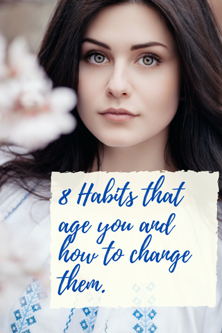 8 Habits that age you and how to change them