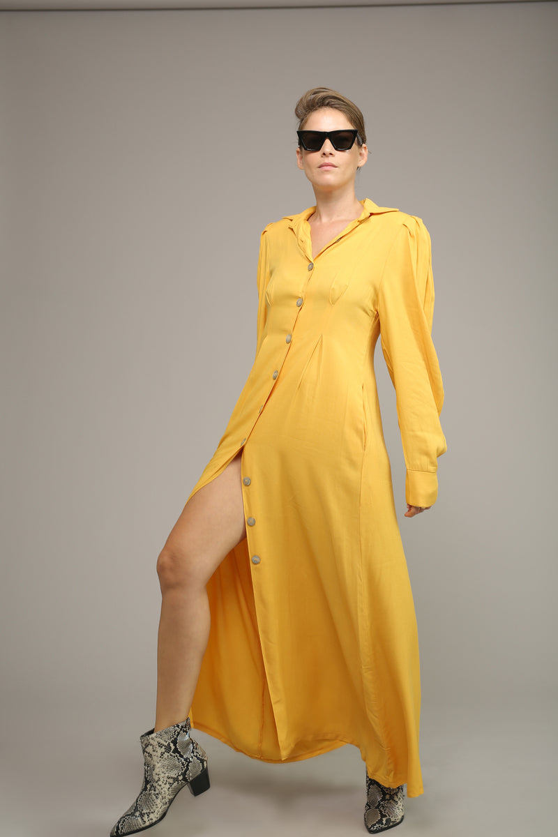MYELIN DRESS – Yellow