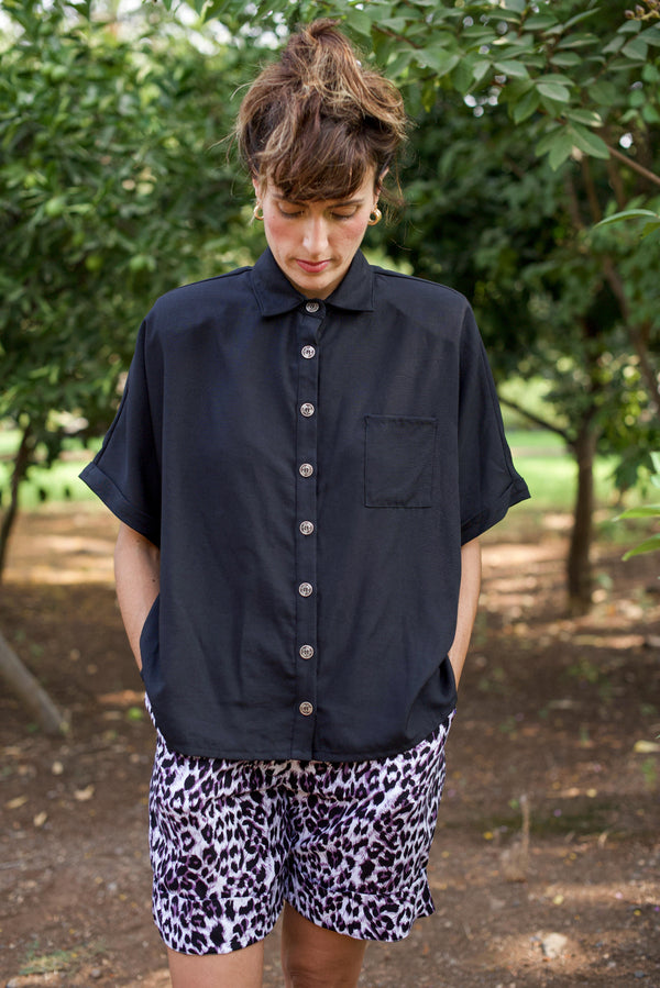 MYELIN SHIRT – Black