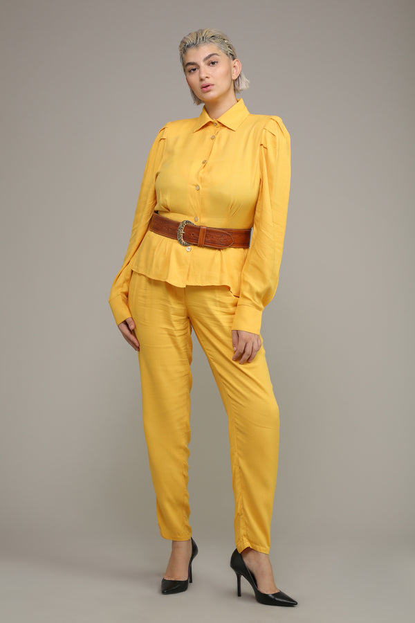 MYELIN BLOUSE – Yellow