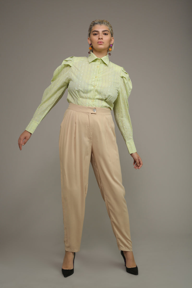 MYELIN BLOUSE – Lime