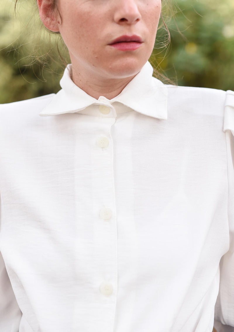 MYELIN BLOUSE - White