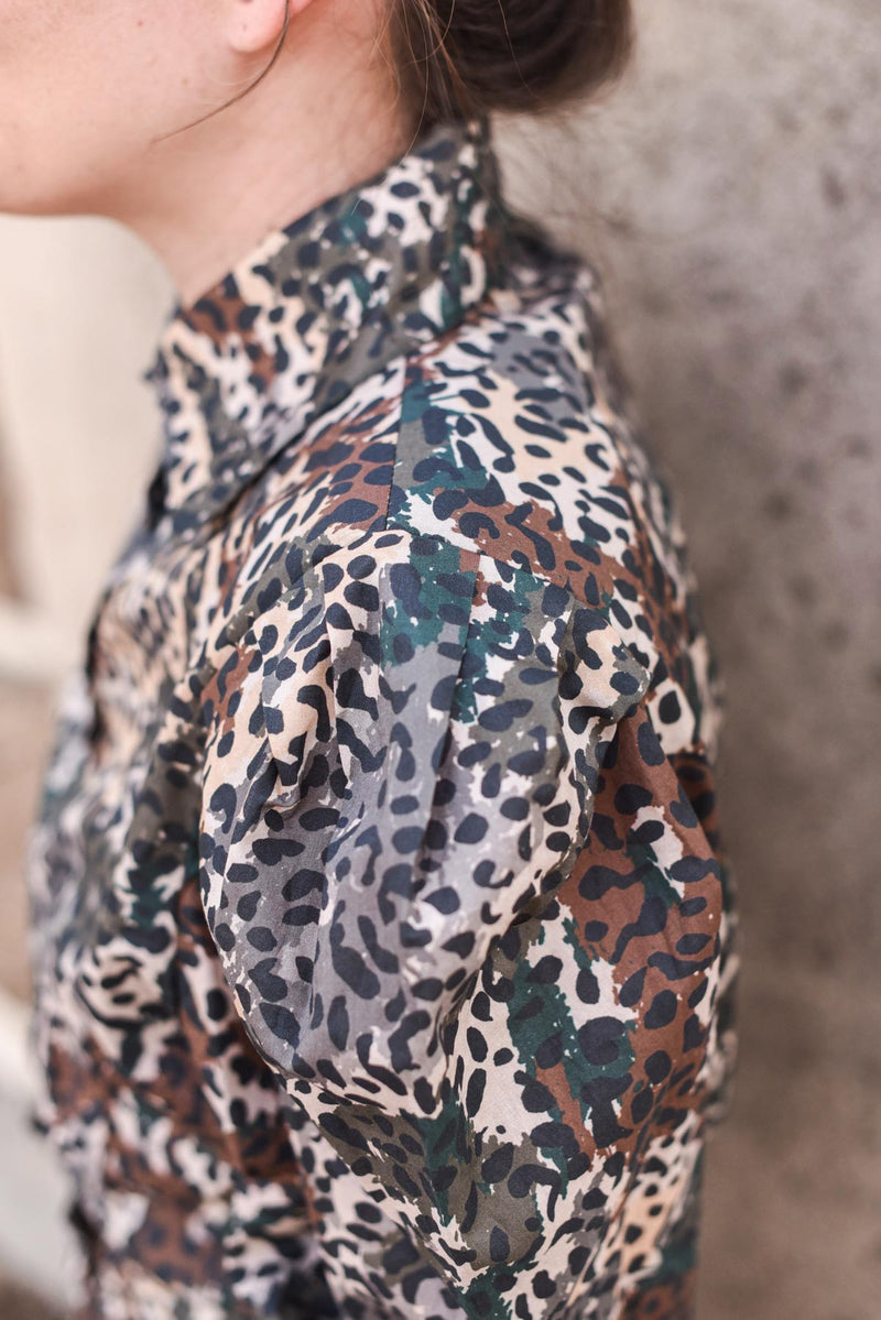 MYELIN BLOUSE - The Leopard