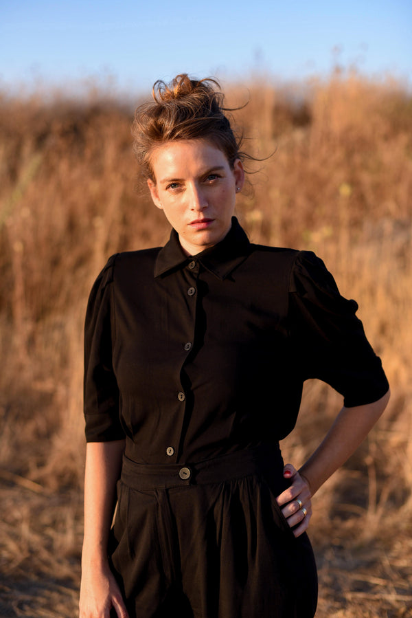 MYELIN BLOUSE – Eternal Black