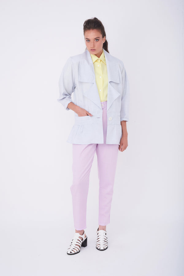 LOUISE JACKET – Powder Blue