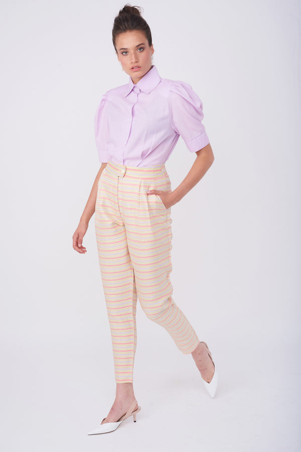 BARRE PANTS – Golden Stripes