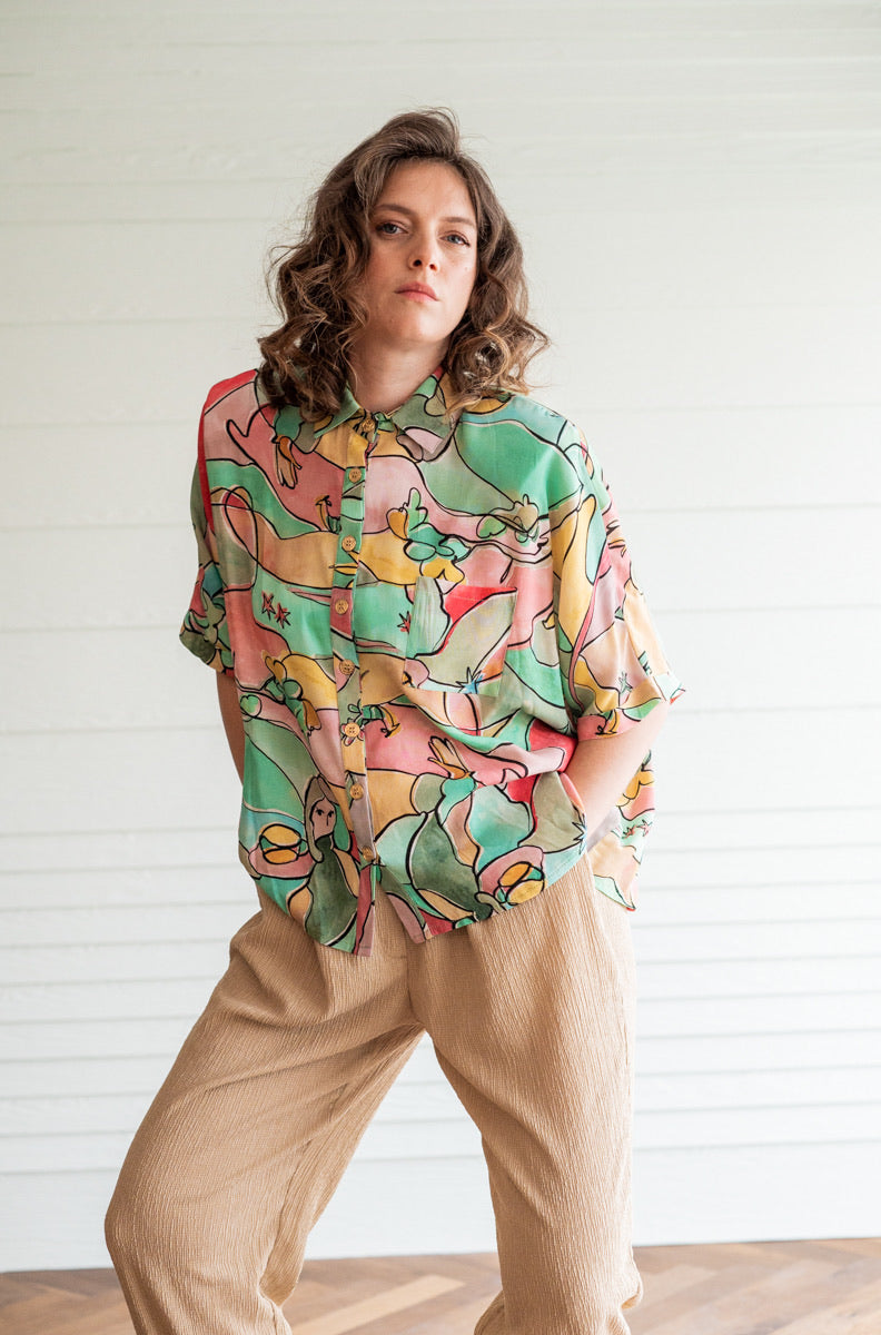 MERMAID OVERSHIRT MYELIN