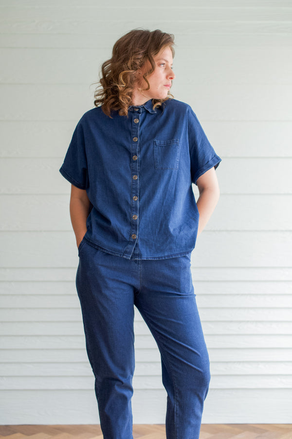 DENIM OVERSHIRT MYELIN
