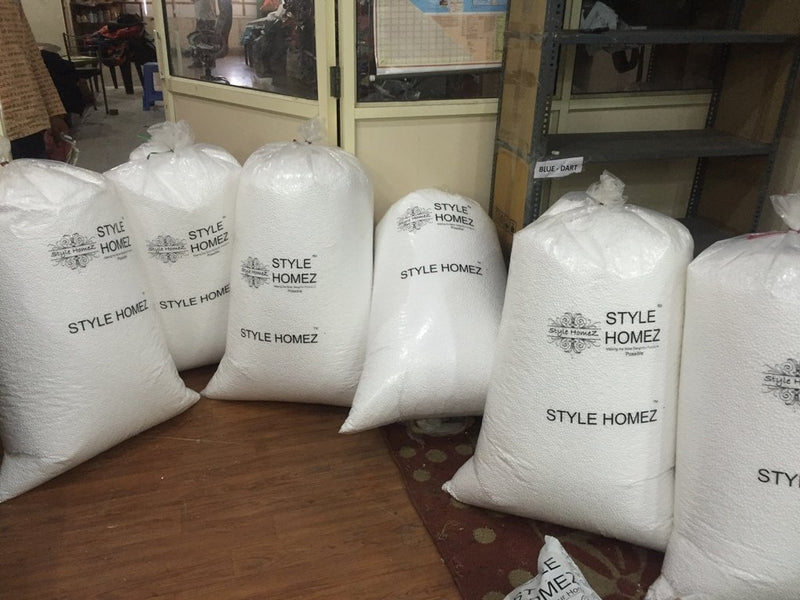 Style Homez 8 kg Premium Bean Bag Refill for Bean Bags