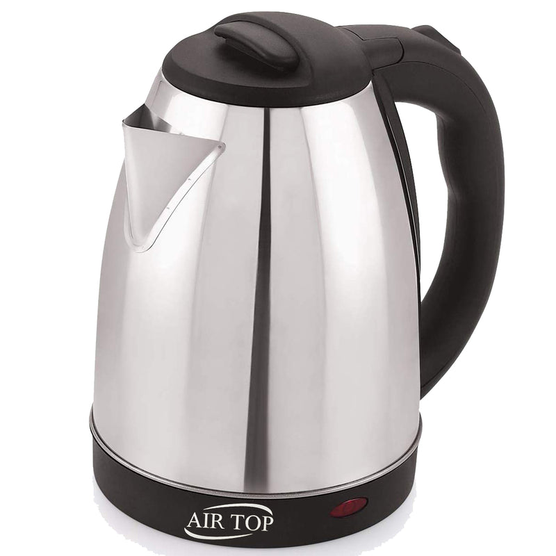 AIRTOP  ClassicAuto-Cut Electric Kettle 1000 Watt Silver Black Color 1.5 Litre (1500 ml)