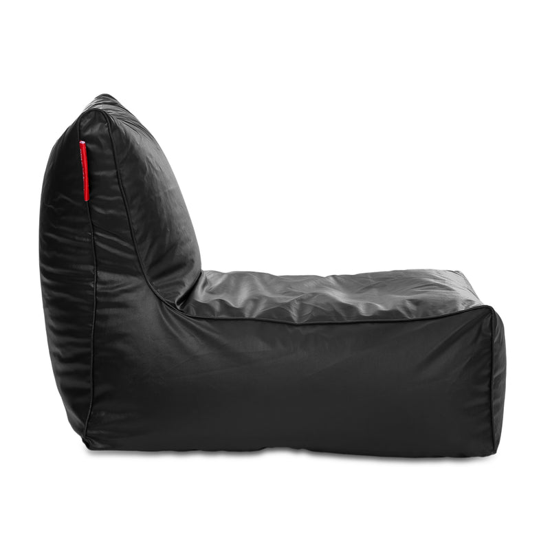 Style Homez Alexa Luxury Lounge XXXL Bean Bag Black Color Cover Only