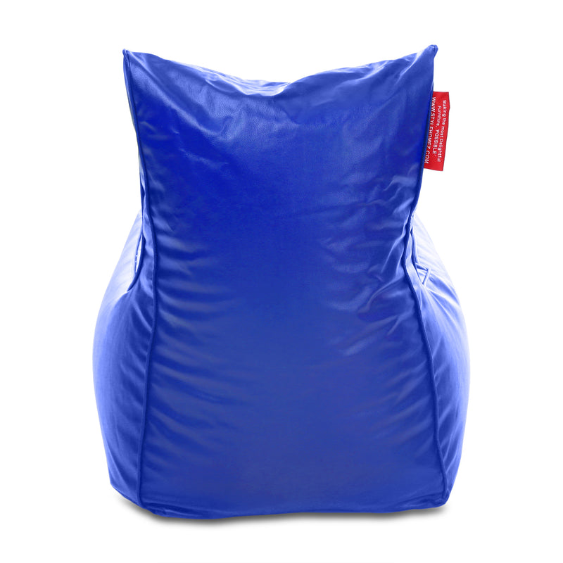 Style Homez Alexa Luxury Lounge XXXL Bean Bag Royal Blue Color Cover Only