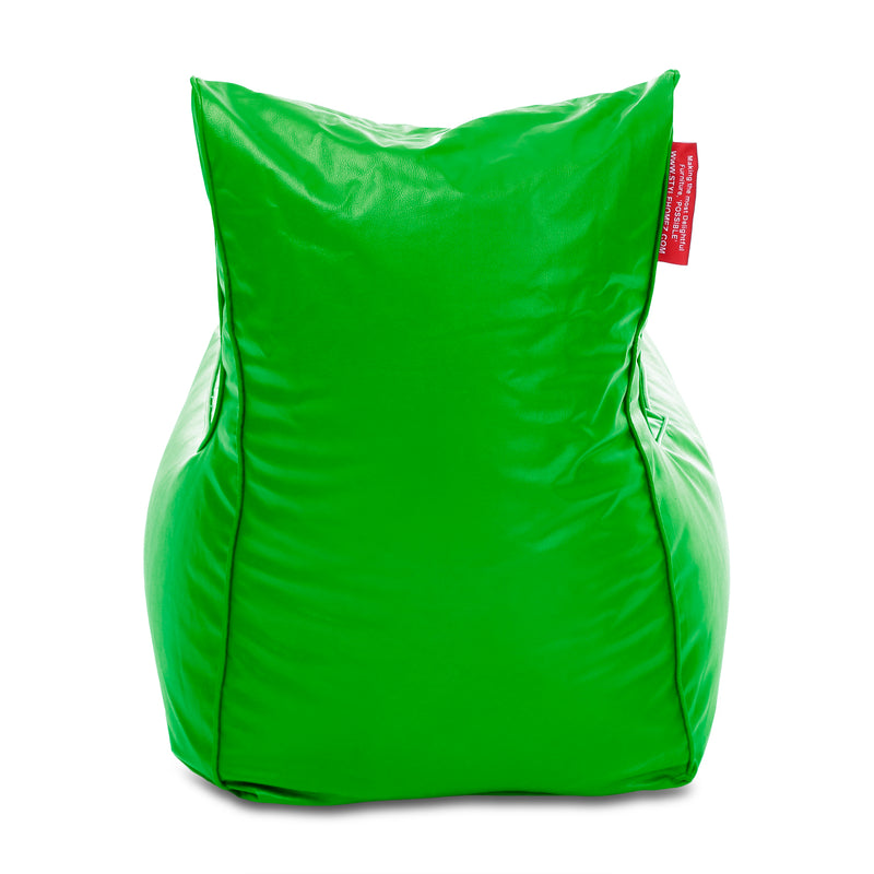 Style Homez Alexa Luxury Lounge XXXL Bean Bag Parrot Green Color Filled with Beans