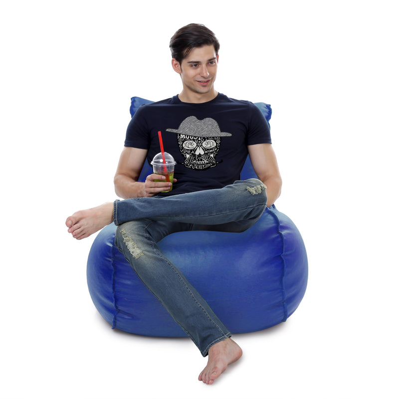 Style Homez Mambo XL Bean Bag Blue Color Cover Only