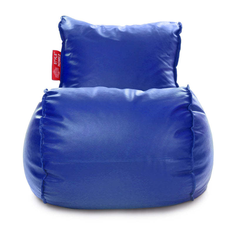 Style Homez Mambo XL Bean Bag Blue Color Filled with Beans