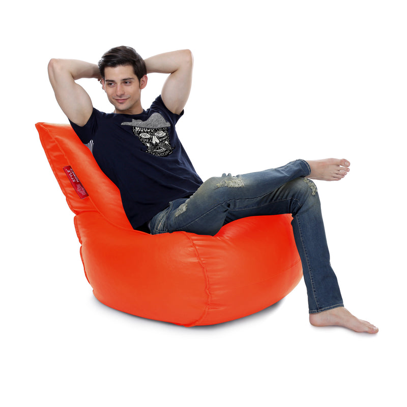 Style Homez Mambo XL Bean Bag Orange Color Cover Only