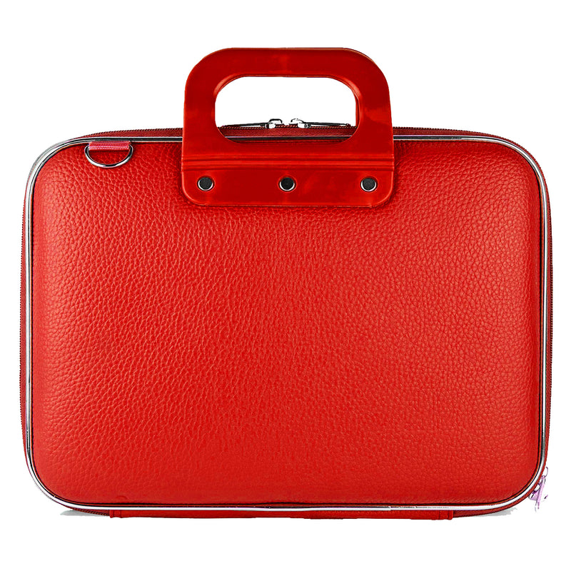 "Style Homez Stylish Unisex Hard Shell Briefcase Candy Red Laptop Bag with Strap for 15.6"" Laptop"