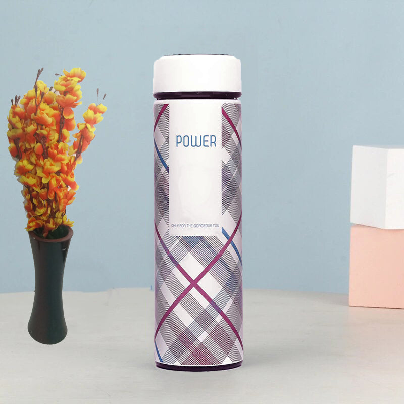 Style-Homez-Double-Wall-Vacuum-Insulated-Stainless-Steel-Flask-BPA-Free-Thermos-Travel-Water-Bottle-Sipper-480-ml-Hot-and-Cold-12-Hours-White-Color-(POWER)-Set-of-2