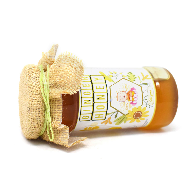 Spicy Monk 100% Pure & Natural Ginger Honey 500 gm