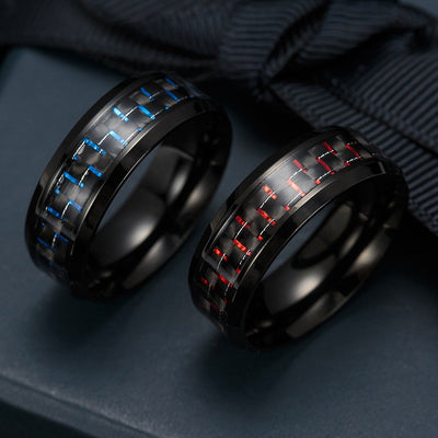 Tungsten & Carbon Fiber Ring