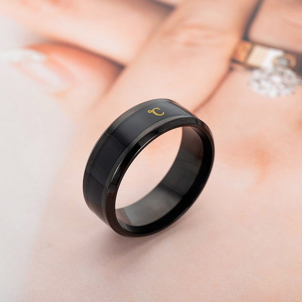 Digital Smart Temperature Ring