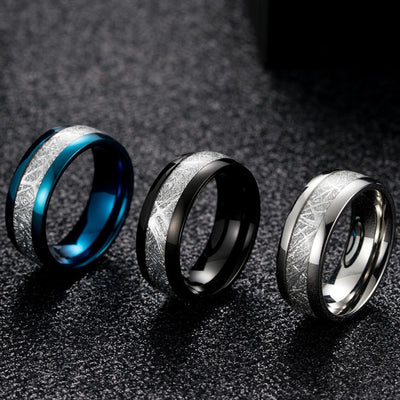 Ice Silk Foil Ring