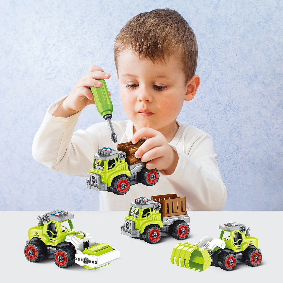 Take Apart Toys - Improve hand-eye coordination, concentration and confidence