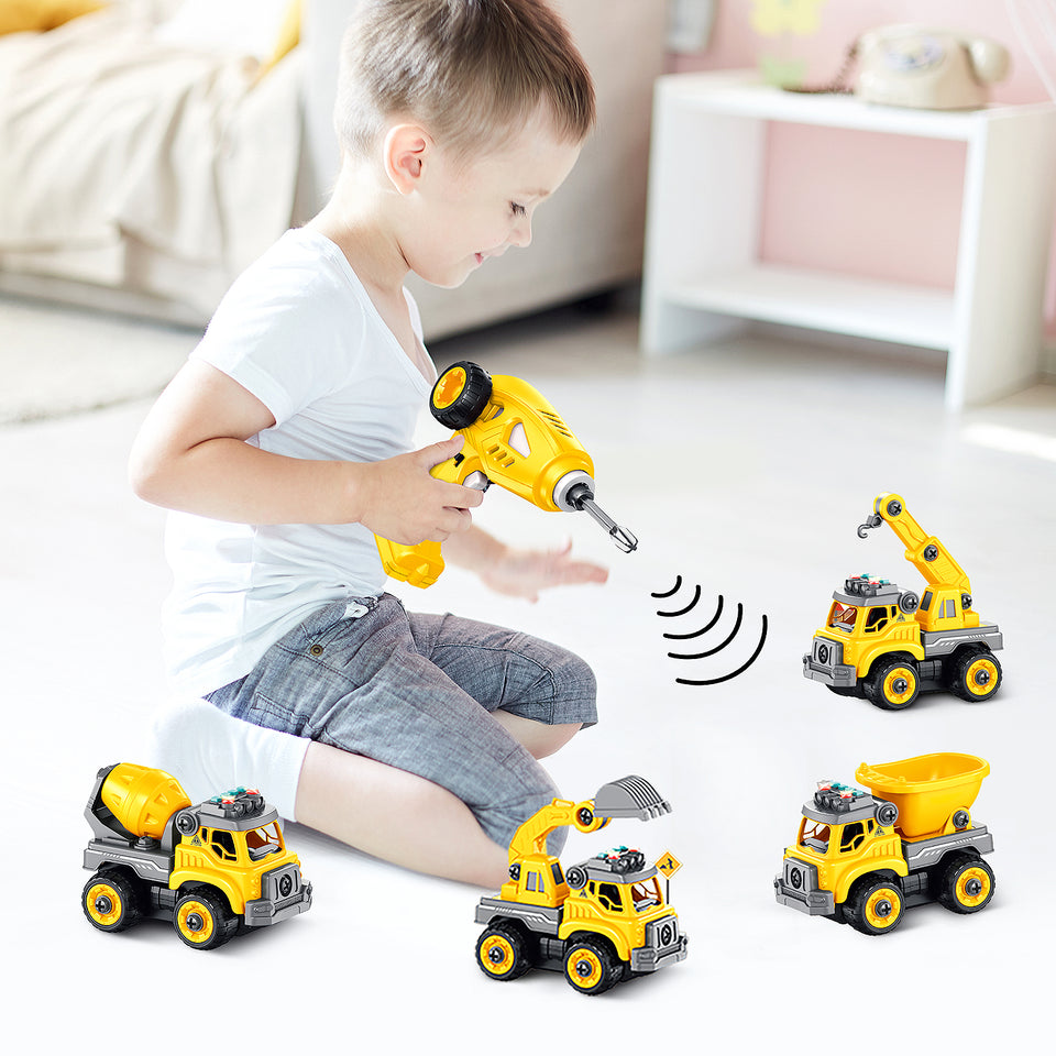 Construction Toys - Learn how to use simple real-life mechanics and functions