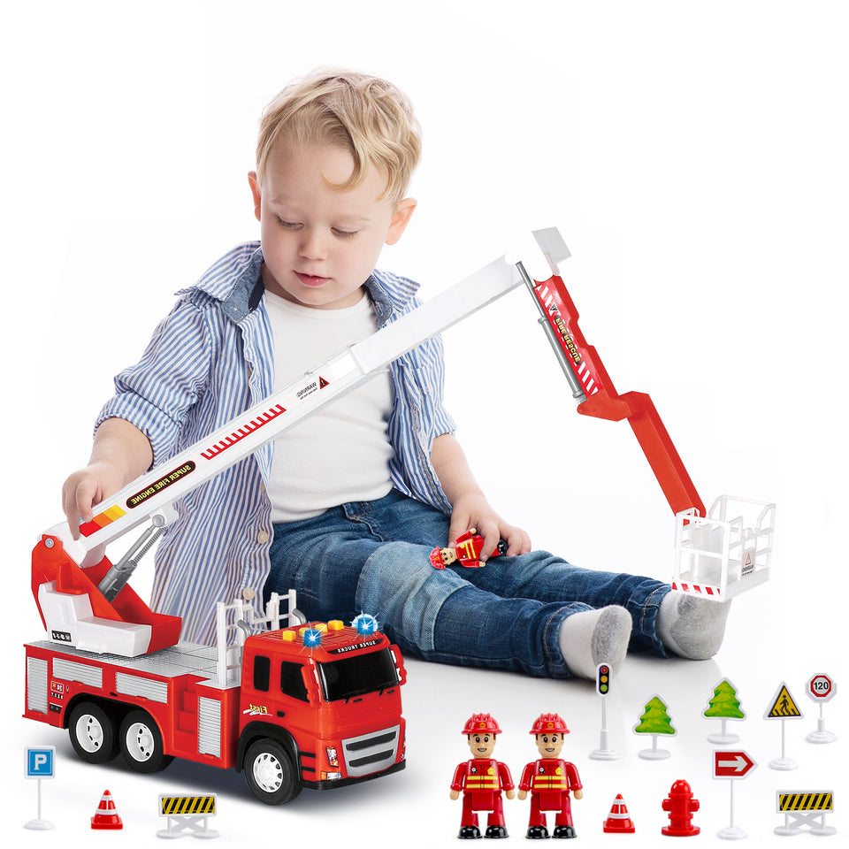 Vehicle and Truck Toys - Understand spatial awareness through active object exploration