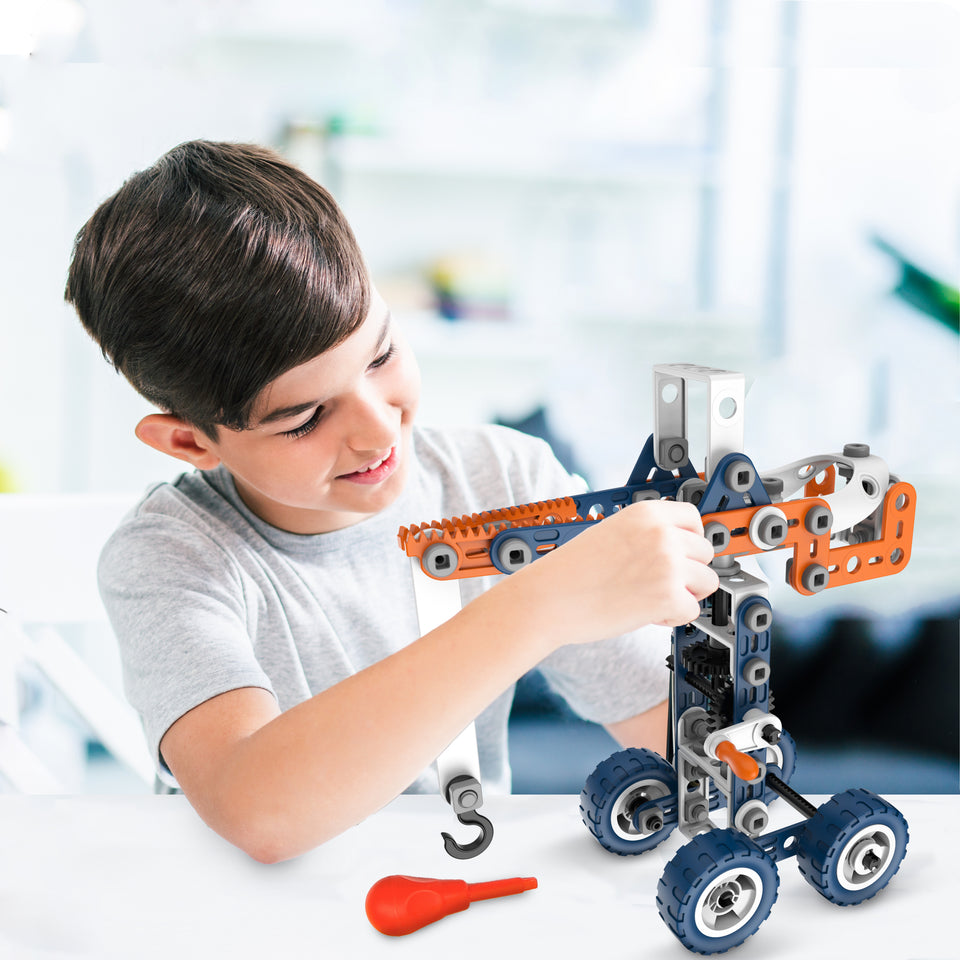 STEM Building Toys - Science, technology, engineering and mathematics