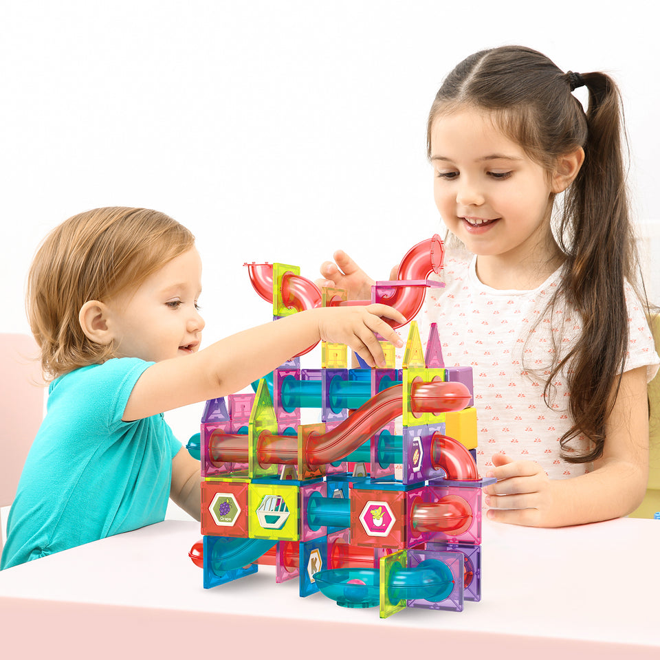 Magnets Toys - Develop creativity and plan intricate designs