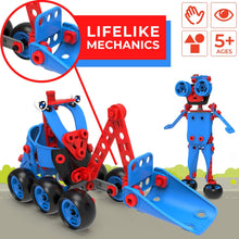 Load image into Gallery viewer, 6 in 1 Kids Building Toy Set, Educational DIY Learning Construction Kit for Boys & Girls