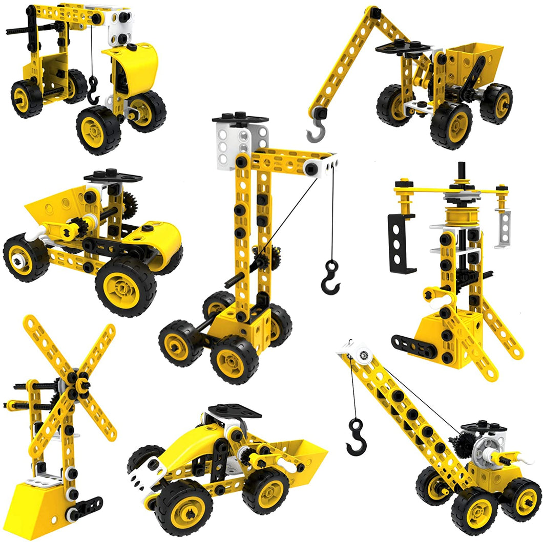 100 Piece 8-in-1 DIY Learning Construction Toy