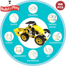 Load image into Gallery viewer, 100 Piece 8-in-1 DIY Learning Construction Toy