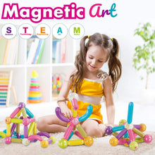 Load image into Gallery viewer, 34 PCS Educational Magnet Building Blocks