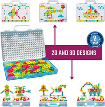 Load image into Gallery viewer, 249 PCS Electric Drill Mosaic DIY Educational Set