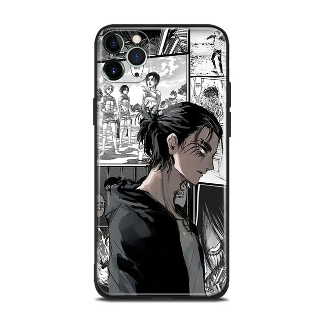 Coque Iphone Eren Yeager S4