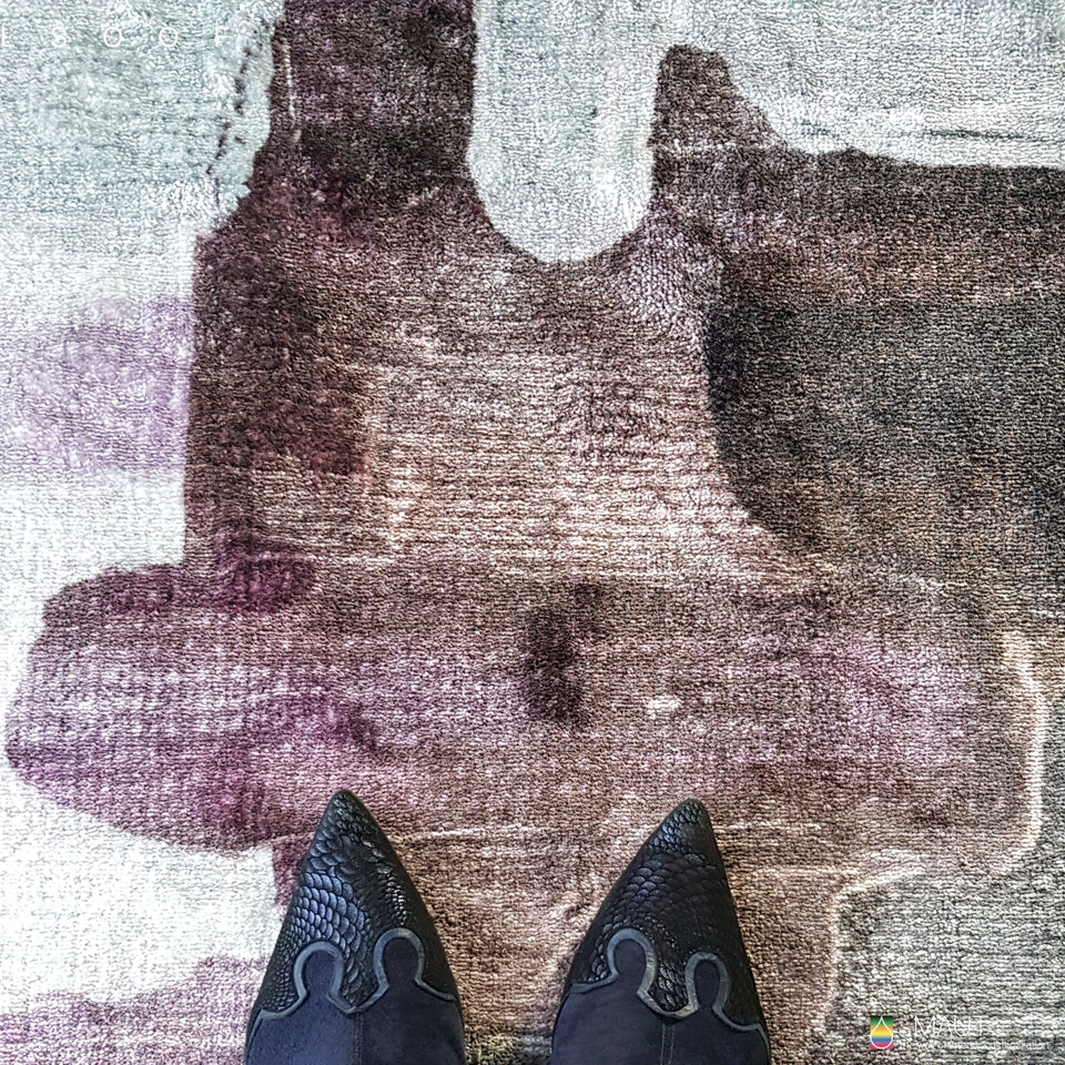 Expression of the painter carpet