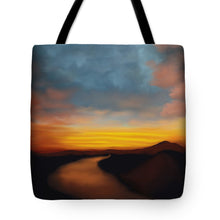 Load image into Gallery viewer, River st Sunset - Tote Bag