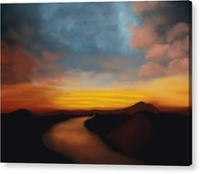 Load image into Gallery viewer, River st Sunset - Acrylic Print