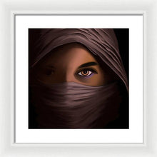 Load image into Gallery viewer, Woman in Shadow - Framed Print