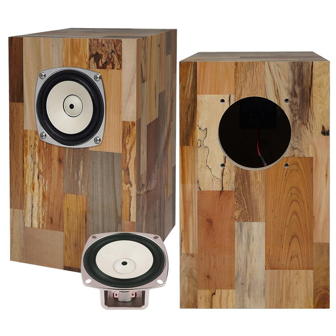 DRIFTWOOD SPEAKER BOX SERIES<br>BK100ADC <br>Designed by ACME Furniture