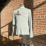 Long Sleeve Trapper Shirt - Grey Men's