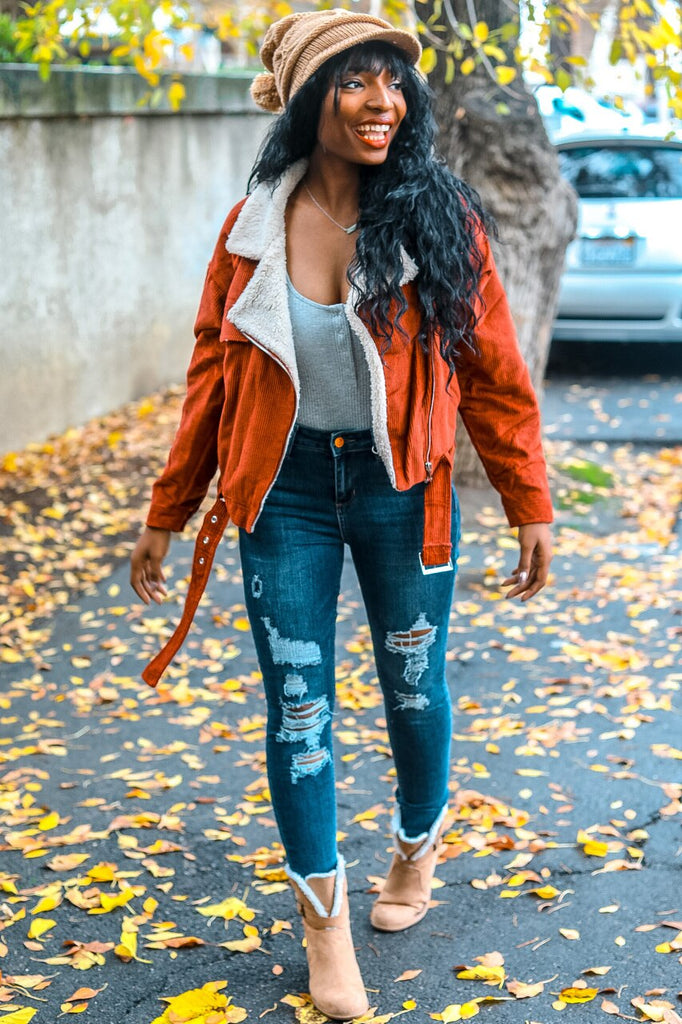 Feeling Distressed Skinny Denim Jeans - SURELYMINE